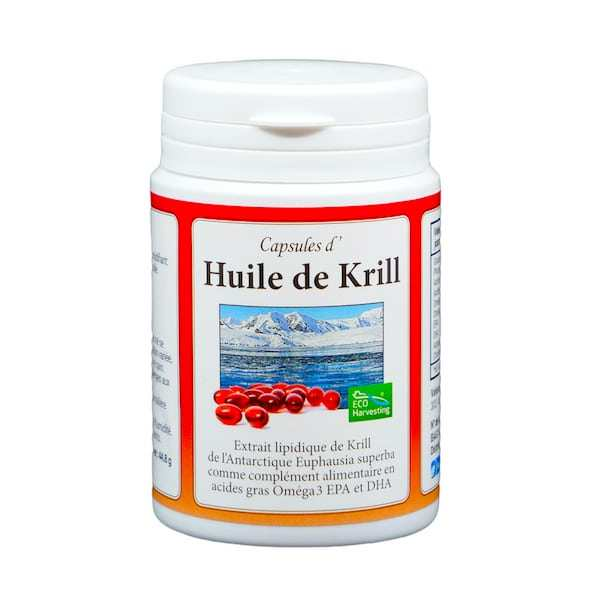 Capsules d'Huile de Krill