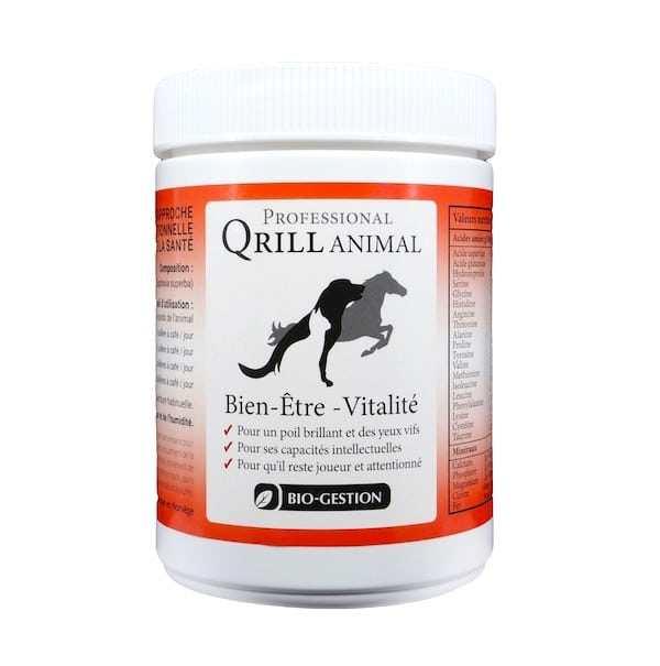 Huile de Krill pour animaux de compagnie