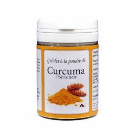 Gélules à la poudre de Curcuma et Poivre Noir