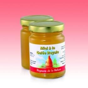 Gelée royale sur miel
